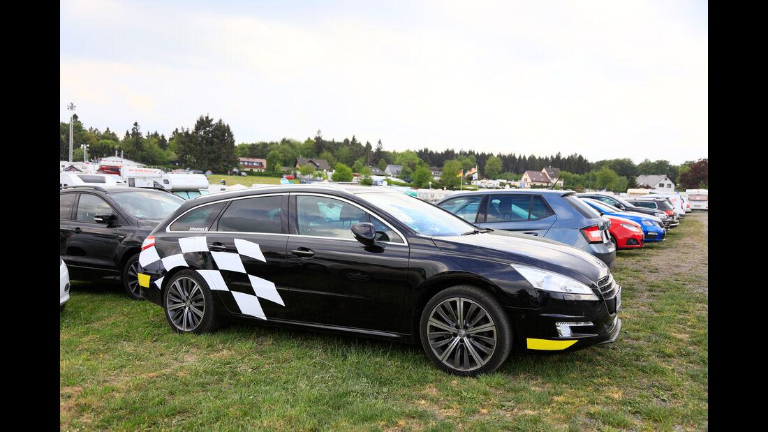 Fan-Autos - 24h-Rennen Nürburgring 2018 - Nordschleife