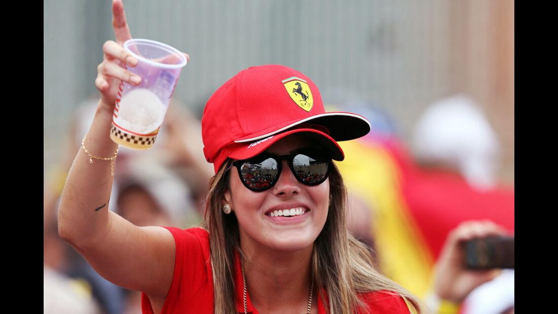 Fan Ferrari - Formel 1 - GP Brasilien- 15. November 2015