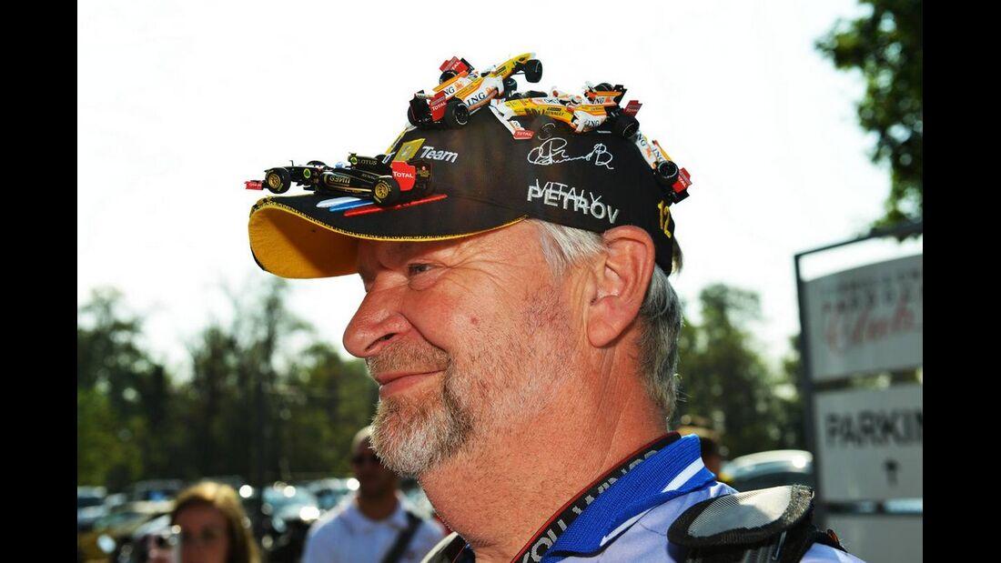 Fan - Formel 1 - GP Italien - 6. September 2012