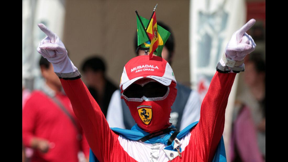Fan  - Formel 1 - GP Japan - 9. Oktober 2011