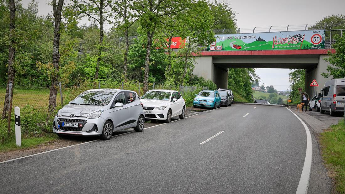 Fanautos - 24h Rennen Nürburgring - Nürburgring-Nordschleife - 4. Juni 2021