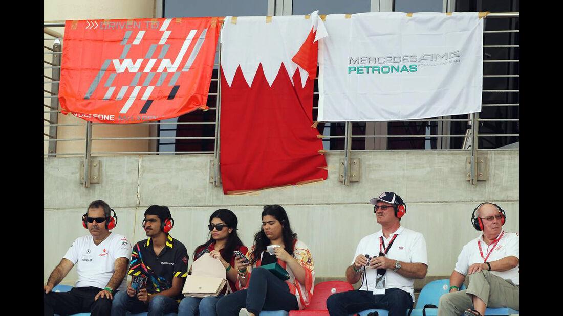 Fans - Formel 1 - GP Bahrain - 20. April 2013