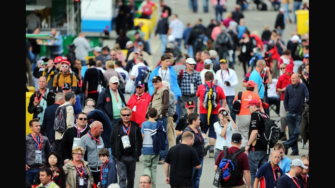 Fans - Formel 1 - GP Belgien - Spa-Francorchamps - 22. August 2014