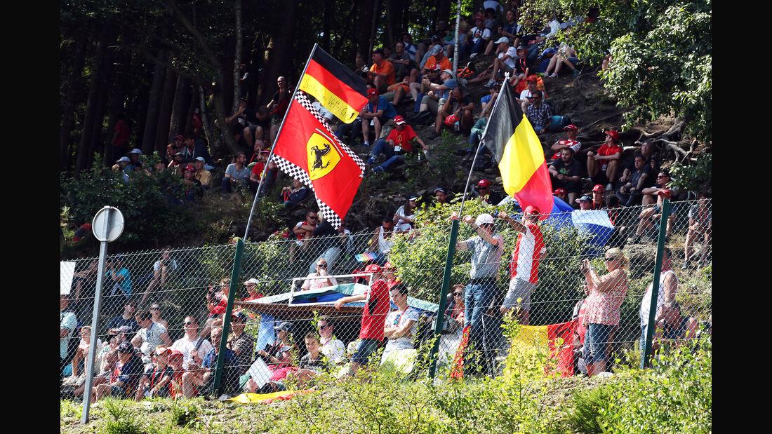 Fans - Formel 1 - GP Belgien - Spa-Francorchamps - 22. August 2015