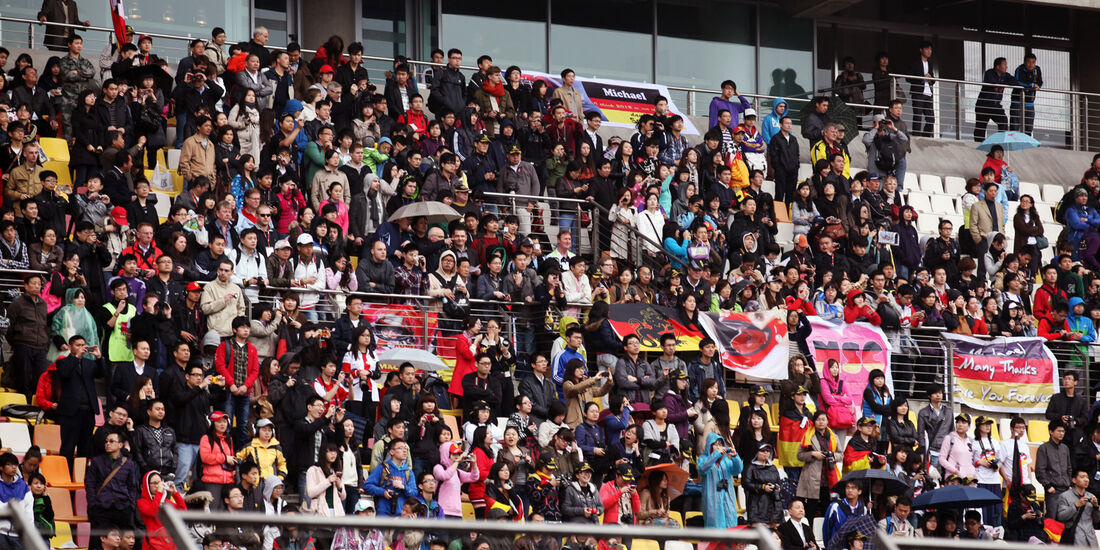 Fans - Formel 1 - GP China - 13. April 2012