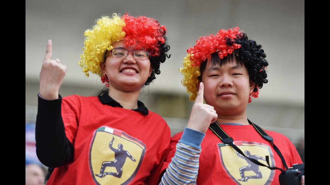 Fans - Formel 1 - GP China 2015