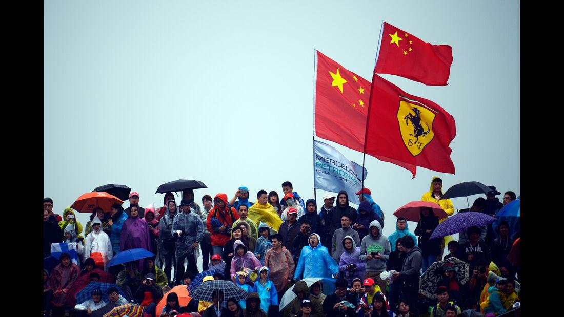 Fans - Formel 1 - GP China - Shanghai - 19. April 2014