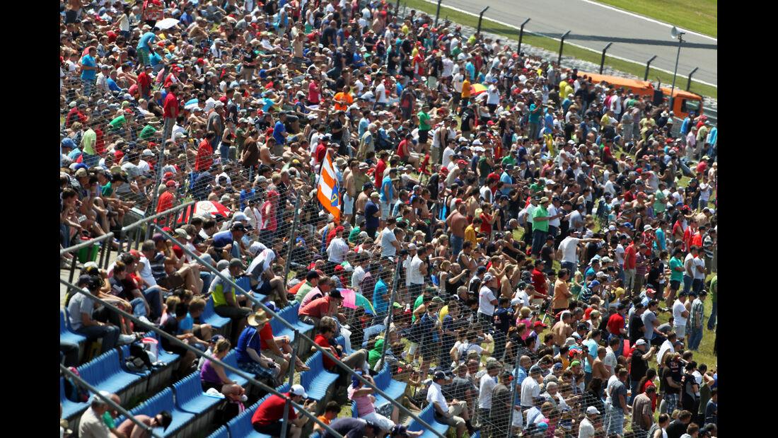 Fans - Formel 1 - GP Deutschland - 6. Juli 2013
