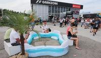 Fans - Formel 1 - GP Deutschland - Hockenheim - 19. Juli 2014