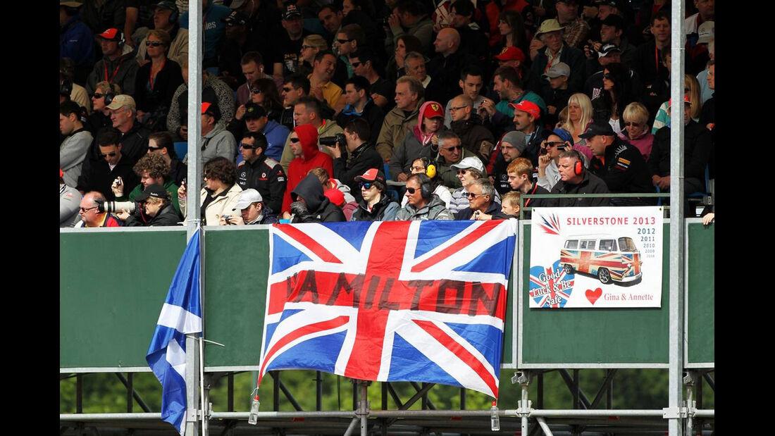 Fans - Formel 1 - GP England - 29. Juni 2013