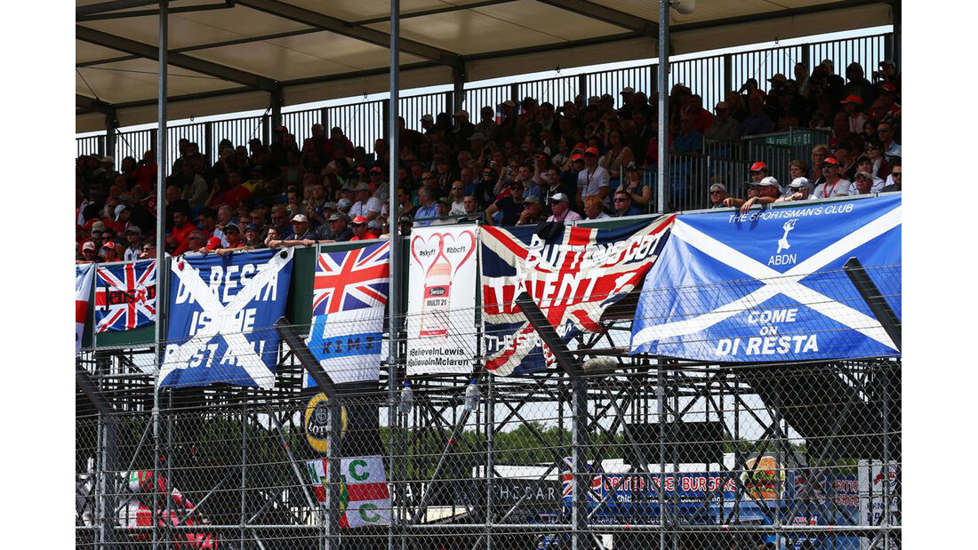 Fans - Formel 1 - GP England - 30. Juni 2013