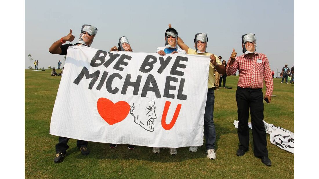 Fans - Formel 1 - GP Indien - 27. Oktober 2012