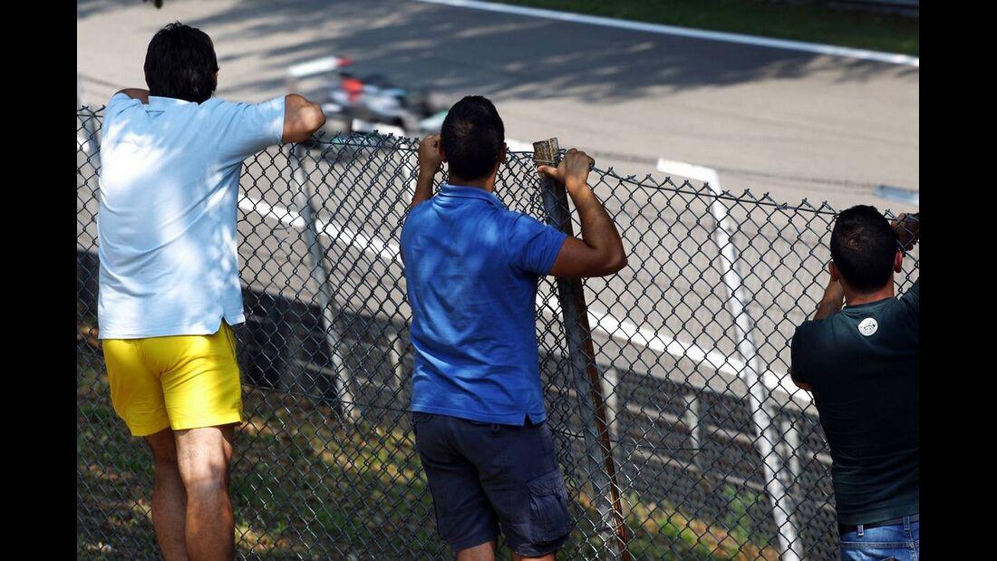 Fans  - Formel 1 - GP Italien - 07. September 2012