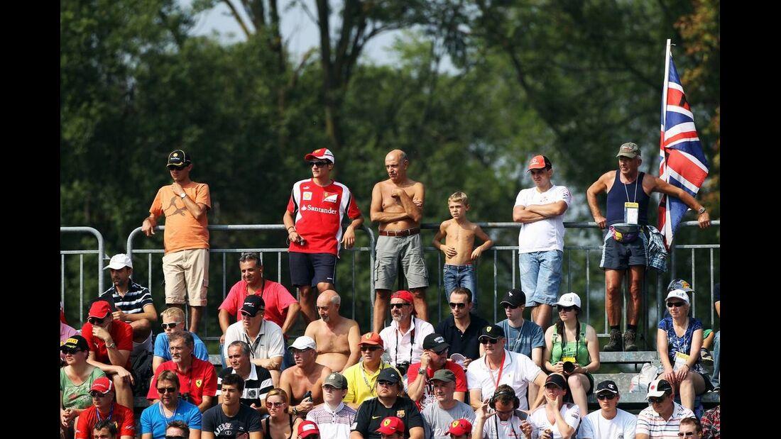 Fans - Formel 1 - GP Italien - 08. September 2012