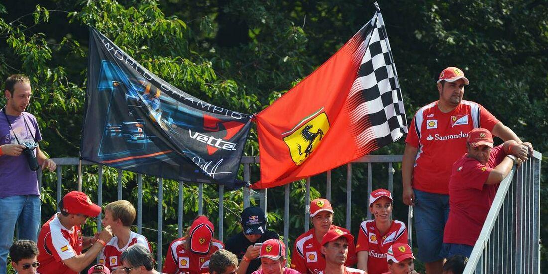 Fans - Formel 1 - GP Italien - 09. September 2012