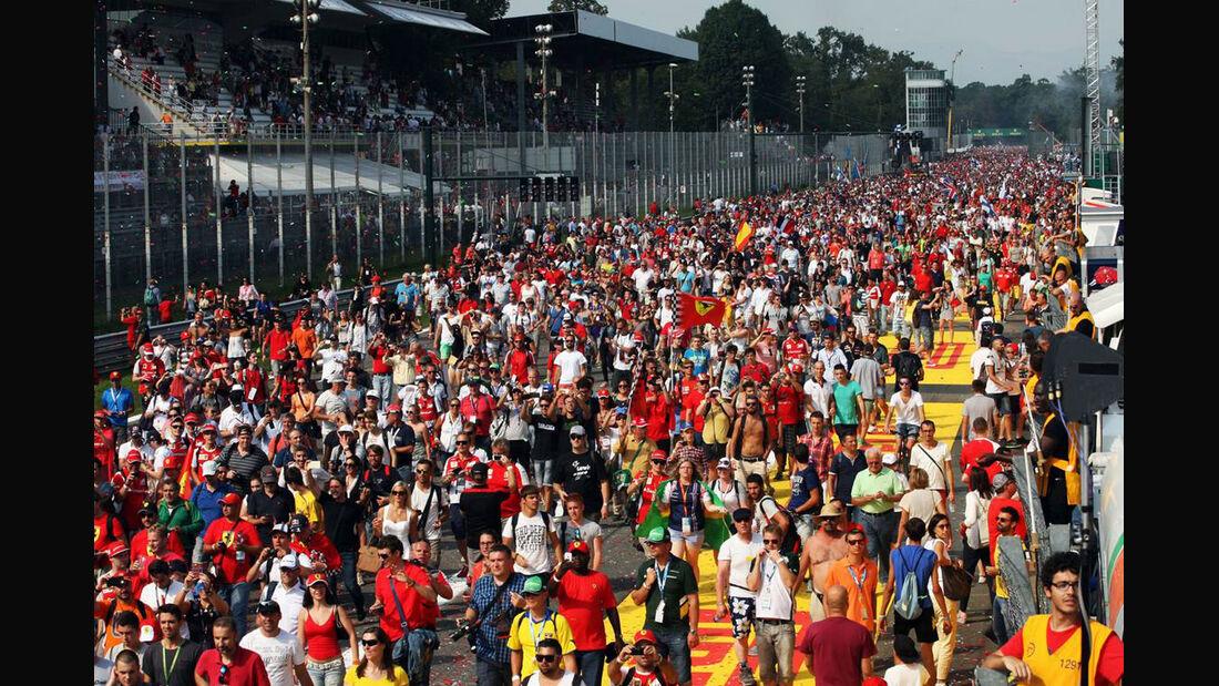 Fans - Formel 1 - GP Italien - 7. September 2014