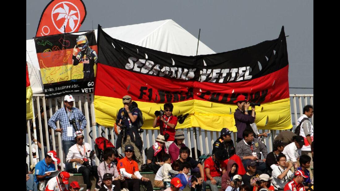 Fans  - Formel 1 - GP Japan - 07. Oktober 2011