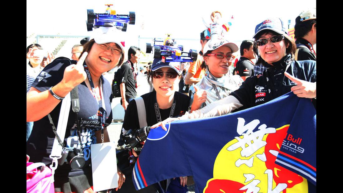 Fans - Formel 1 - GP Japan - Suzuka - 4. Oktober 2012