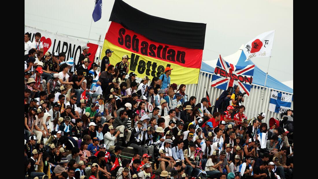 Fans - Formel 1 - GP Japan - Suzuka - 6. Oktober 2012