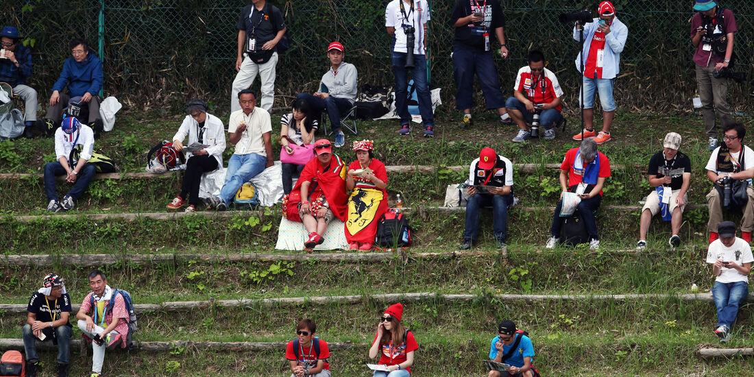 Fans - Formel 1 - GP Japan - Suzuka - Freitag - 7.10.2016