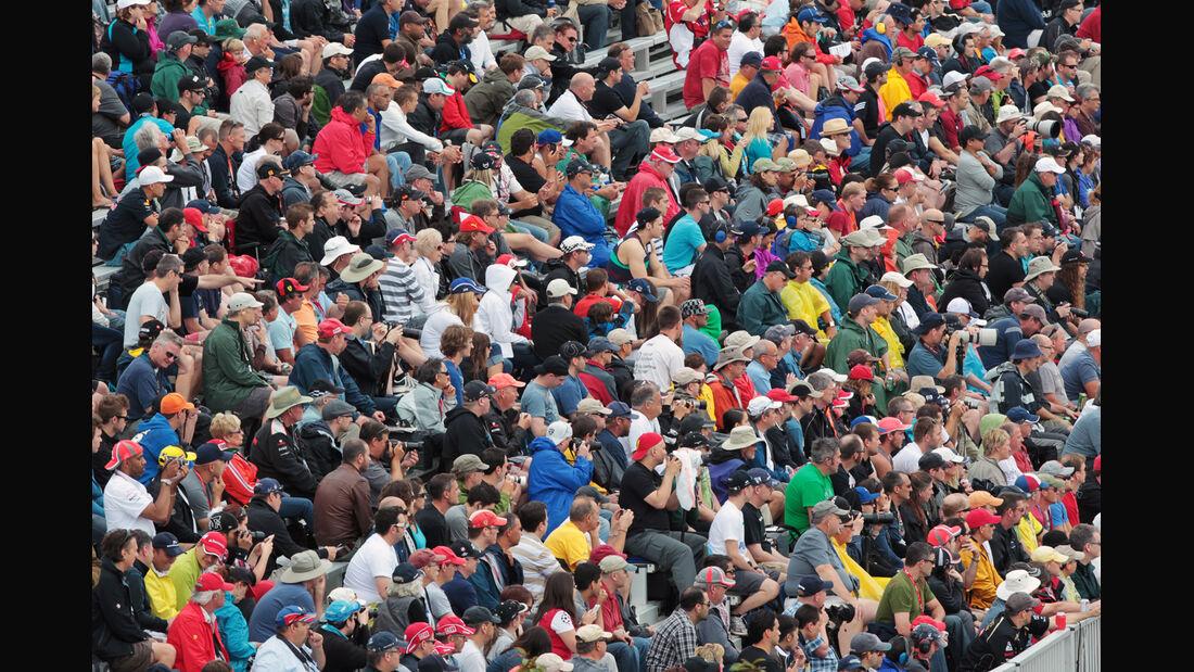 Fans - Formel 1 - GP Kanada 2012 - 8. Juni 2012