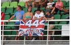 Fans - Formel 1 - GP Malaysia - Freitag - 30.9.2016