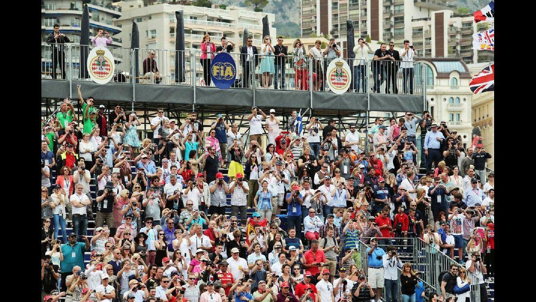 Fans  - Formel 1 - GP Monaco - 25. Mai 2014