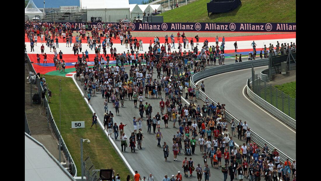 Fans - Formel 1 - GP Österreich - Spielberg - 19. Juni 2014