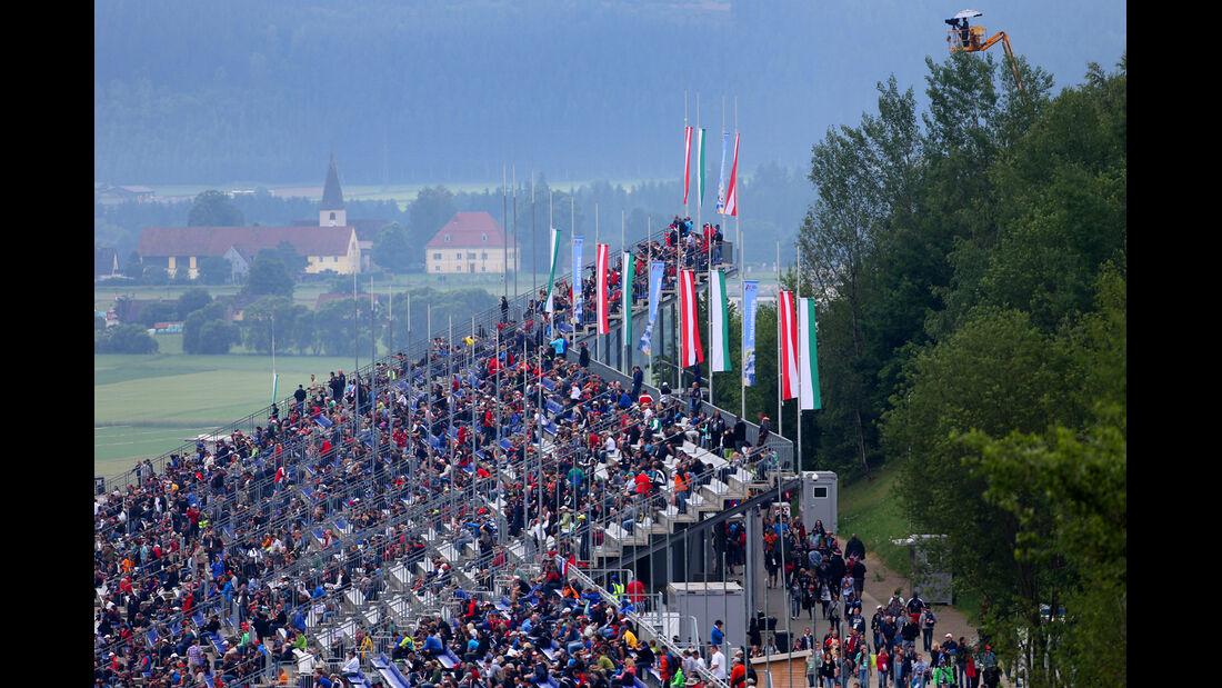 Fans - Formel 1 - GP Österreich - Spielberg - 20. Juni 2014