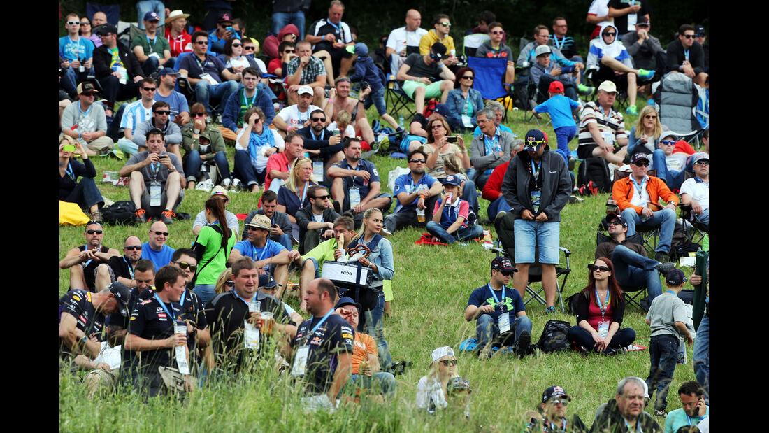 Fans - Formel 1 - GP Österreich - Spielberg - 21. Juni 2014