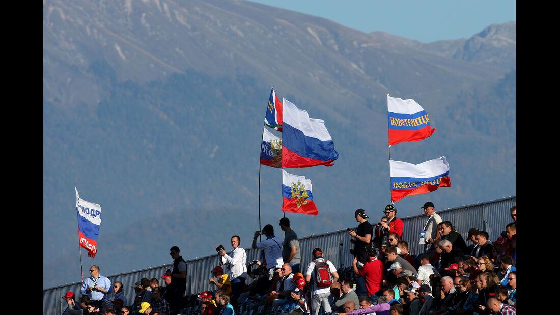 Fans - Formel 1 - GP Russland - 11. Oktober 2014