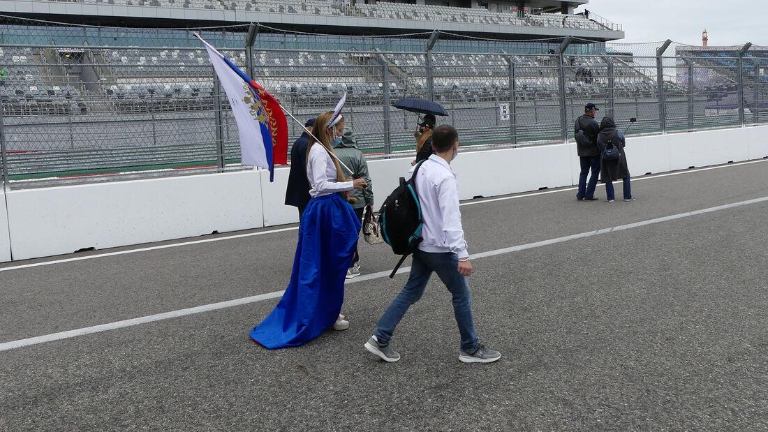 Fans - Formel 1 - GP Russland - Sotschi - Donnerstag - 23.09.2021