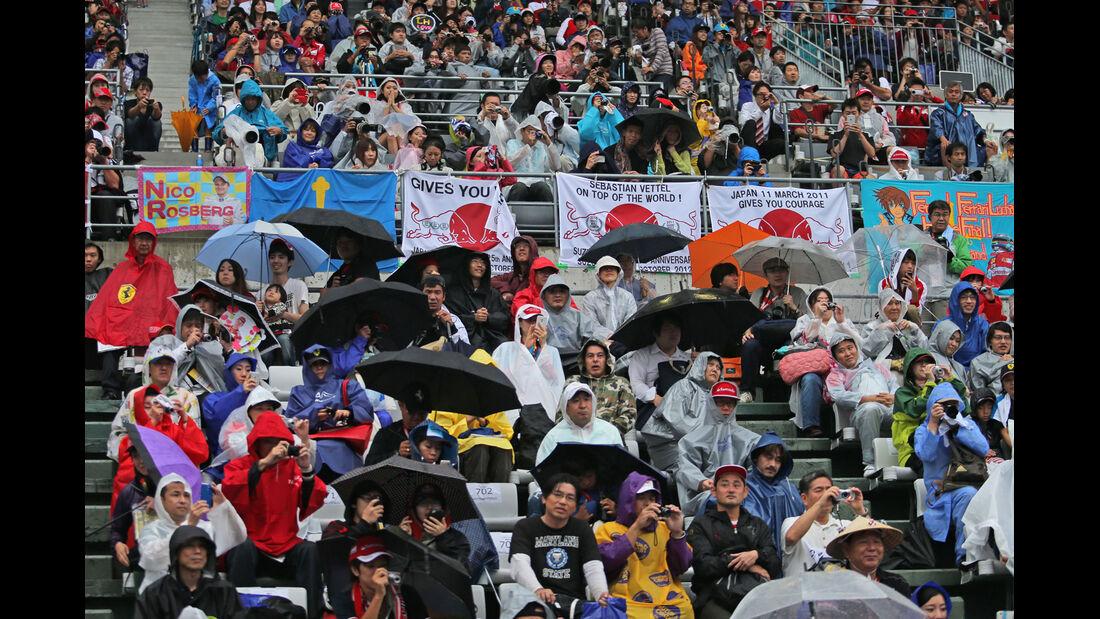 Fans - Formel 1 - GP Singapur - 2. Oktober 2014