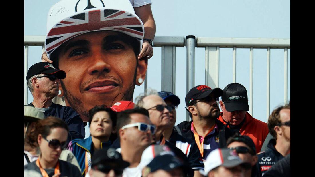 Fans - Formel 1 - GP USA - 2. November 2014