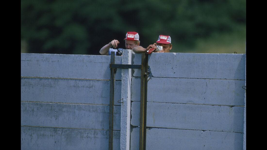 Fans - Formel 1 - GP Ungarn 1986