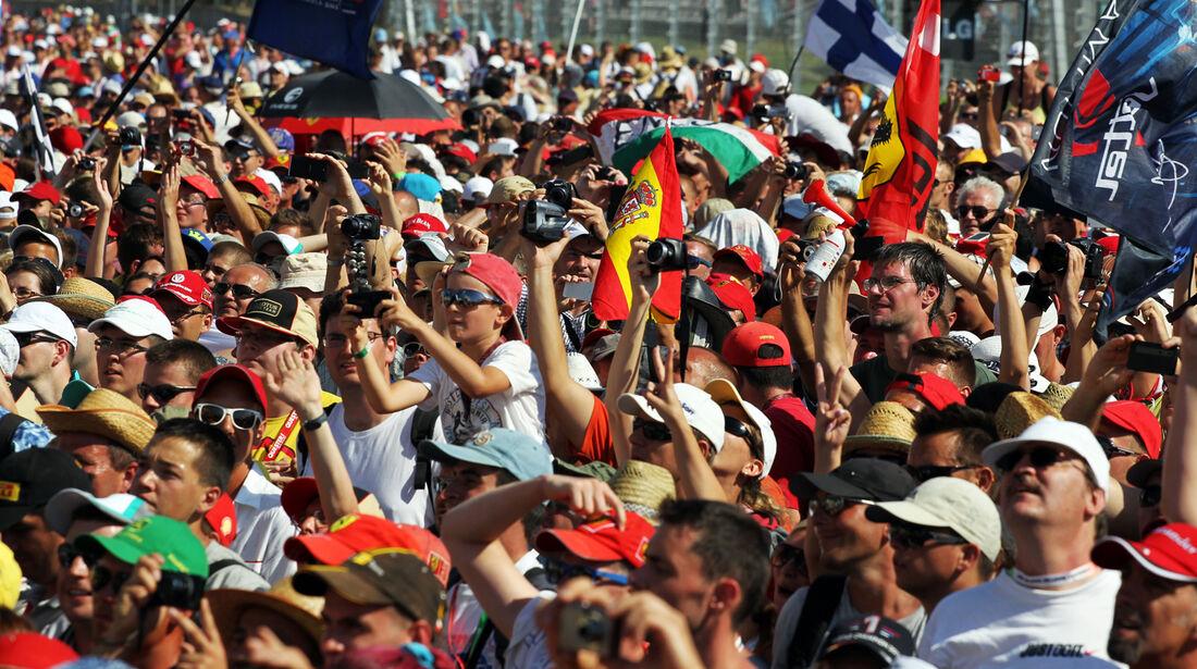 Fans - Formel 1 - GP Ungarn 2013
