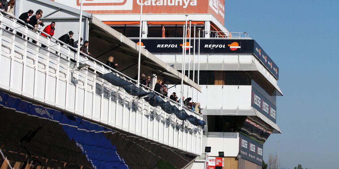 Fans, Formel 1-Test, Barcelona, 20. Februar 2013