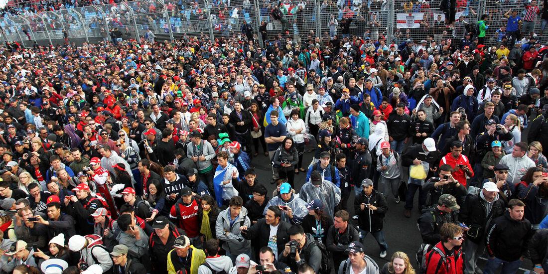 Fans - GP Australien 2013