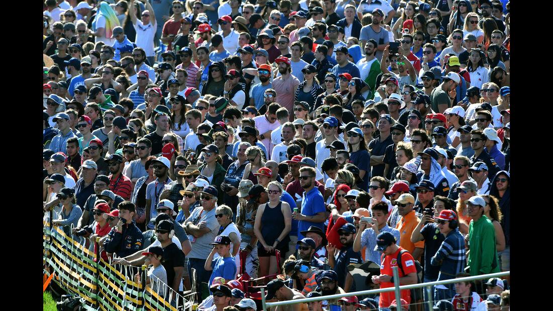 Fans - GP Australien 2017