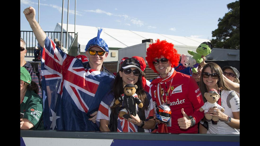 Fans - GP Australien - Melbourne - 17. März 2016