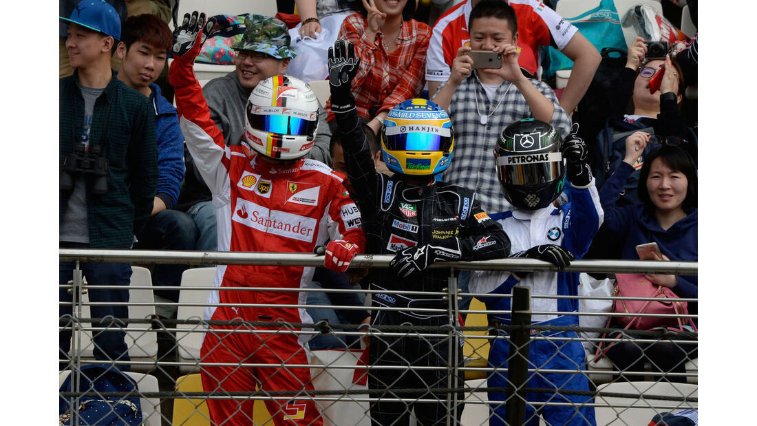 Fans - GP China 2016 - Shanghai - Qualifying - 16.4.2016