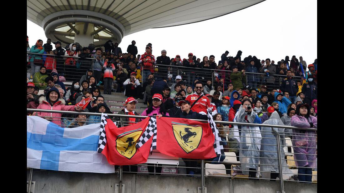 Fans - GP China 2017 - Shanghai - Rennen