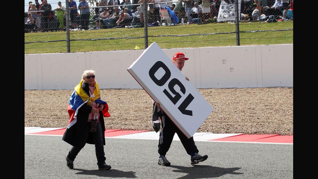 Fans - GP England 2014