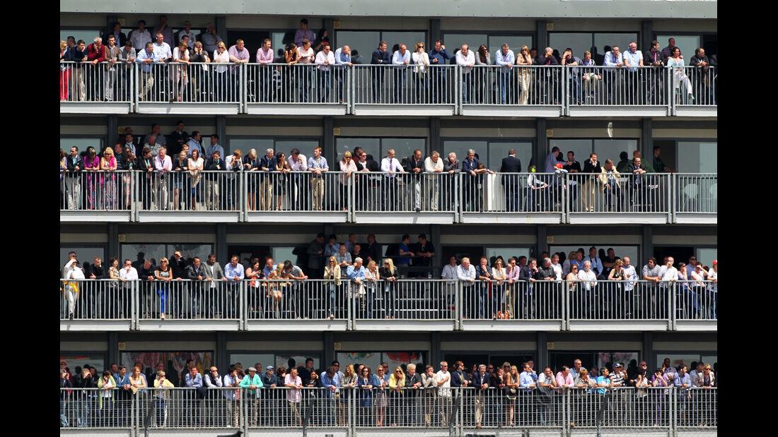 Fans GP England Silverstone 2012