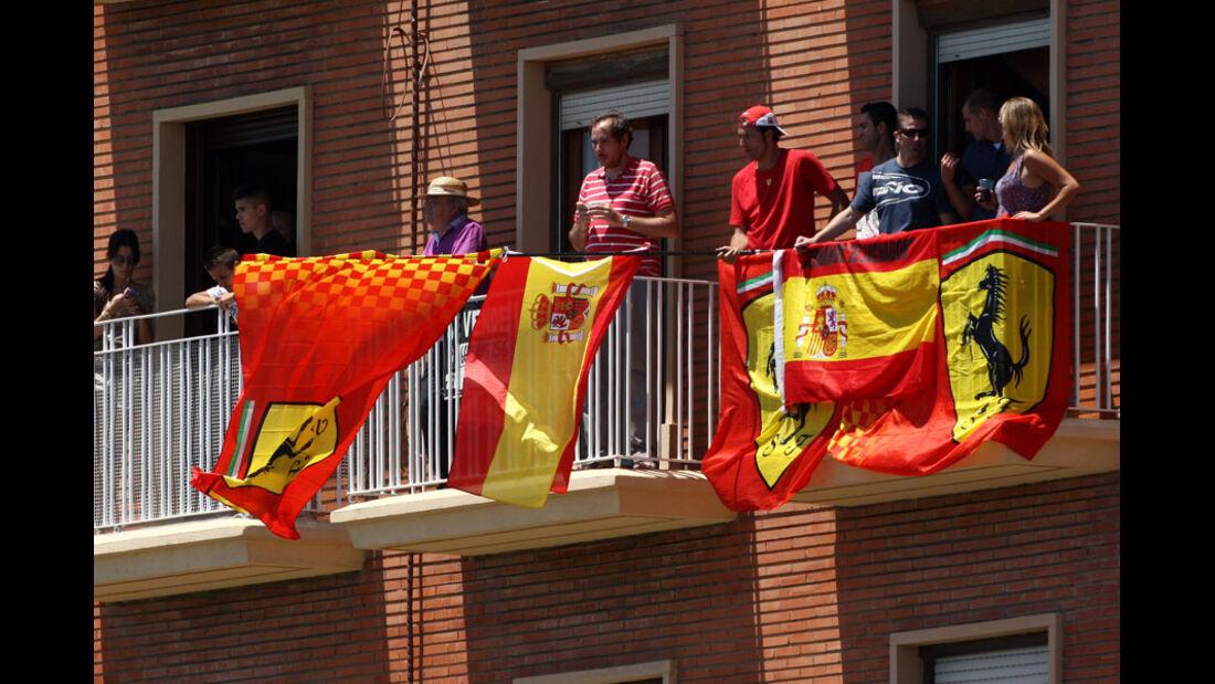 Fans GP Europa Valencia 2011