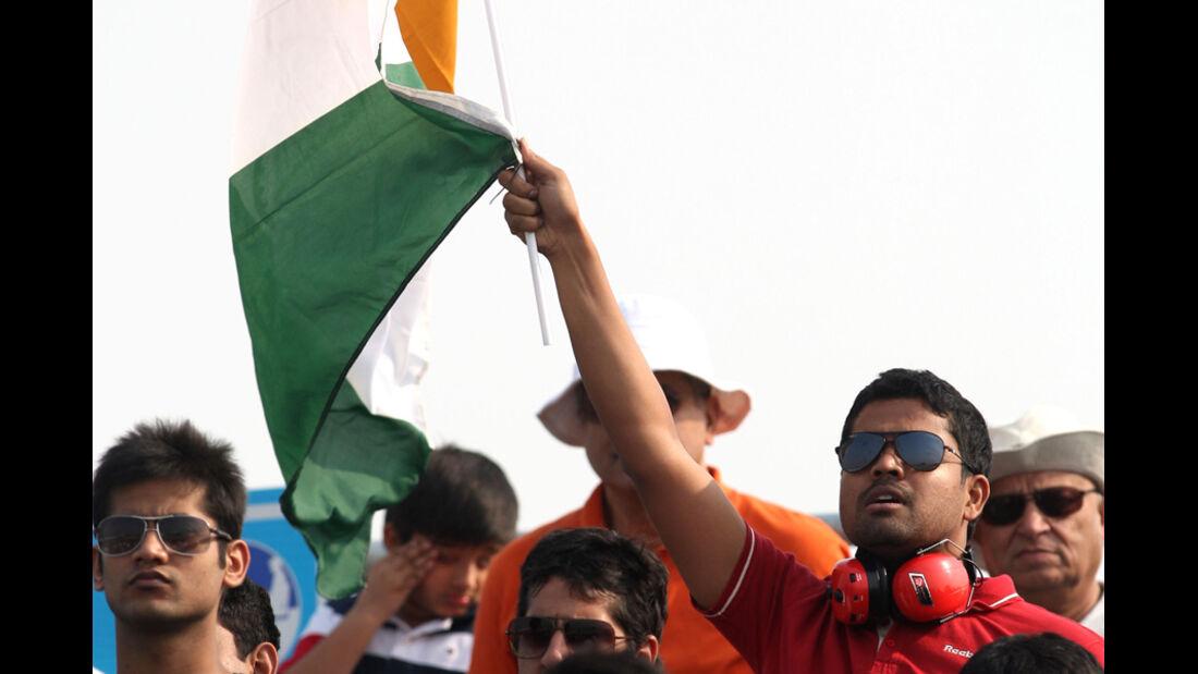 Fans GP Indien 2011