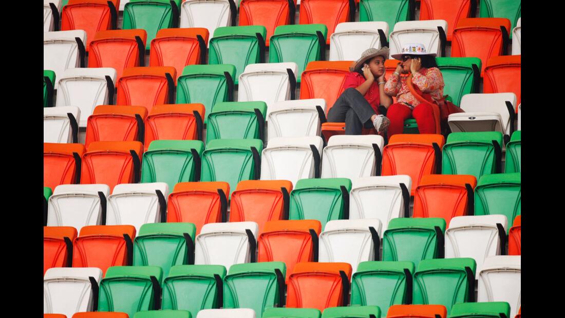 Fans - GP Indien - Training - 28.10.2011