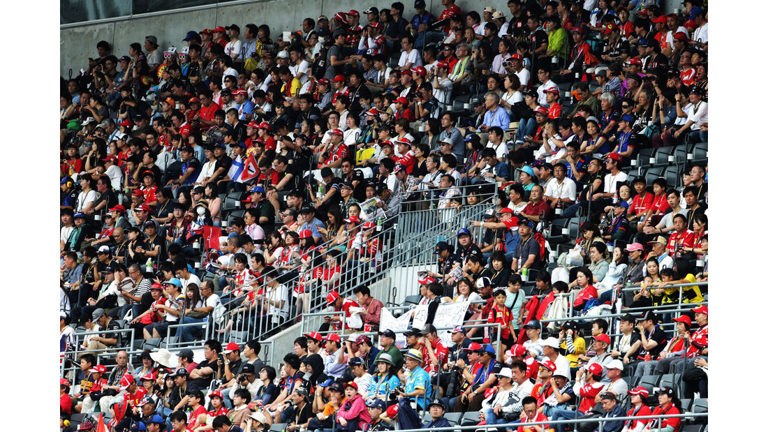 Fans - GP Japan - Suzuka - Formel 1 - Samstag - 6.10.2018