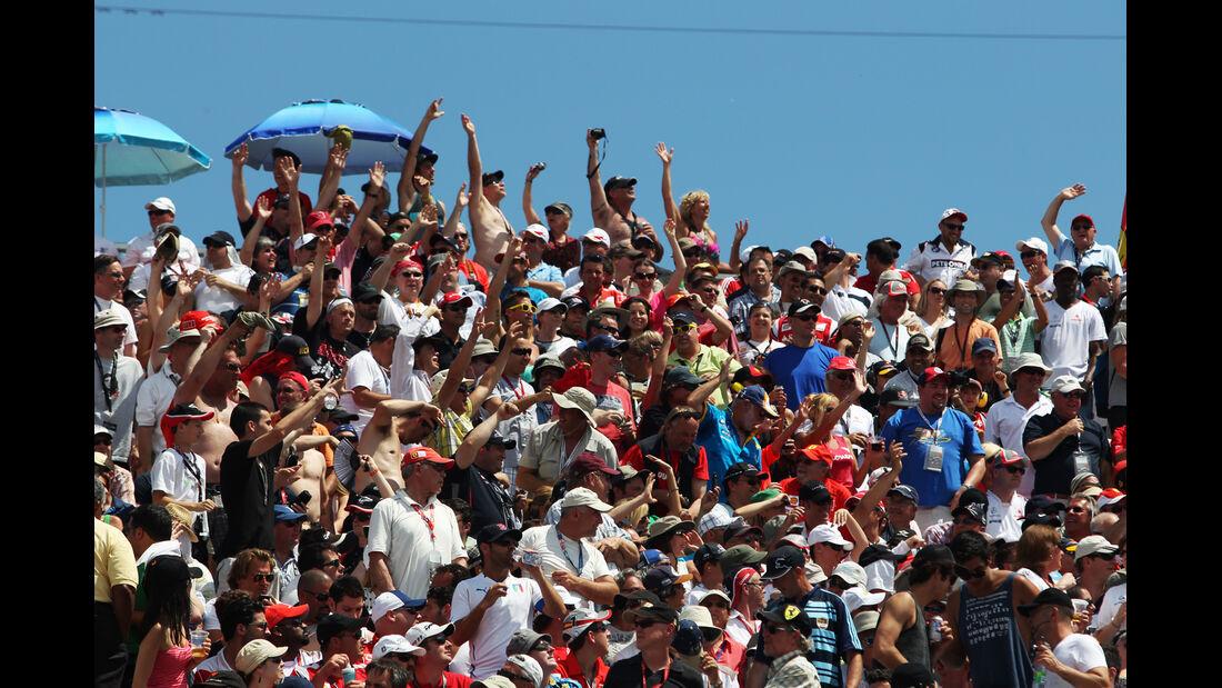 Fans GP Kanada 2012
