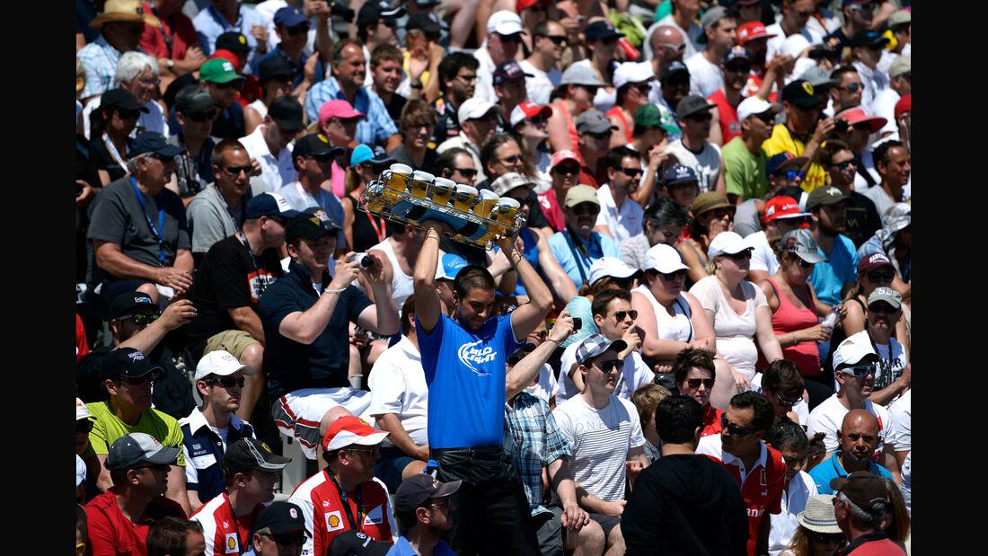 Fans - GP Kanada 2014